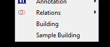 sample building menu