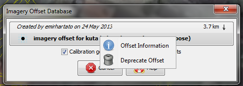 deprecate offset
