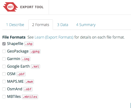 export-tool-file-formats